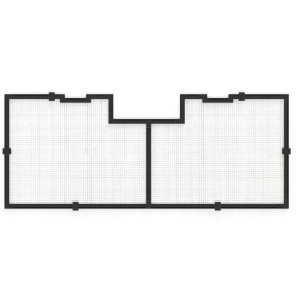 Tank Net Screen 36/90cm (incl. 1 Universal cut out)