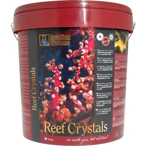 Aquarium Systems Reef Crystals 25kg-Eimer