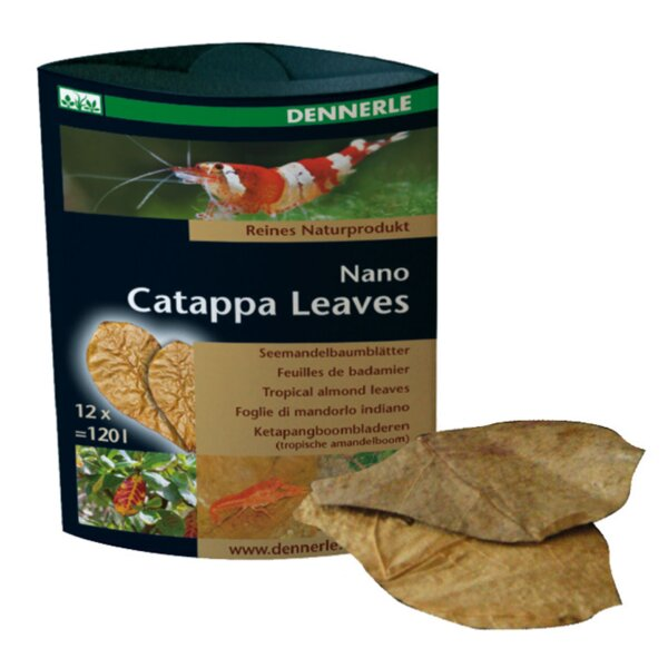 Dennerle Nano Catappa Leaves 12 Stk.