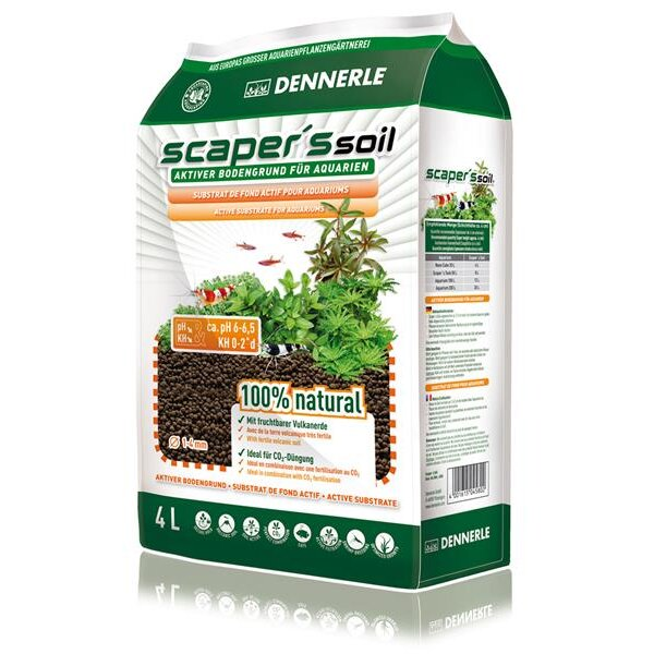 Dennerle Scaper`s Soil 1-4mm  4L