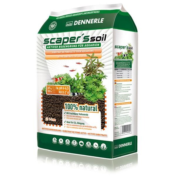 Dennerle Scaper`s Soil 1-4mm  8L