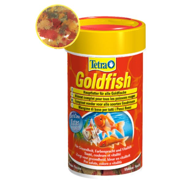 Tetra Goldfish Flakes  250ml