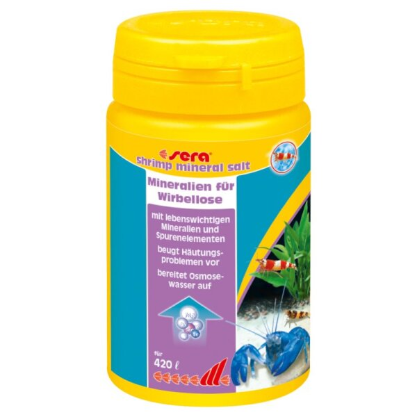 Sera shrimps mineral salt 105 g
